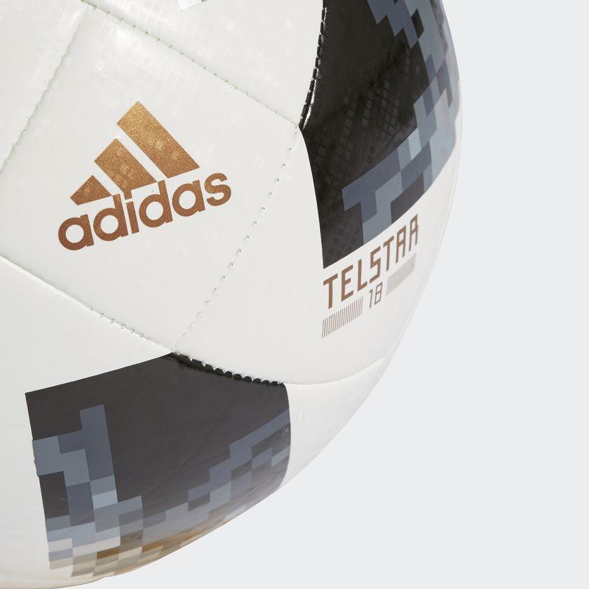 Bola Futebol Campo Adidas Telstar 18 Top Glider Copa do Mundo FIFA ... 4d3a10008f9d6