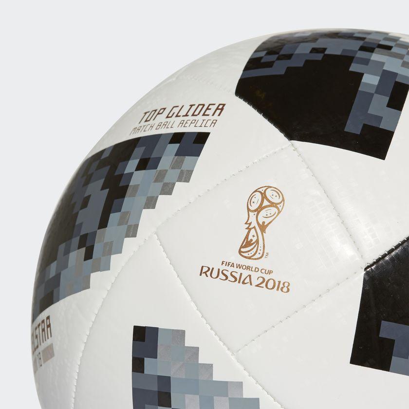 e53bb9de17b69 Bola Futebol Campo Adidas Telstar 18 Top Glider Copa do Mundo FIFA ...