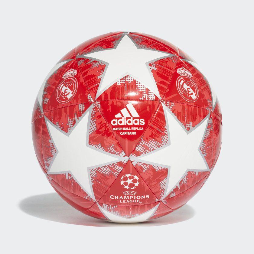 Bola Real Madrid Campo Adidas Finale 18 Capitano e766a99245c11