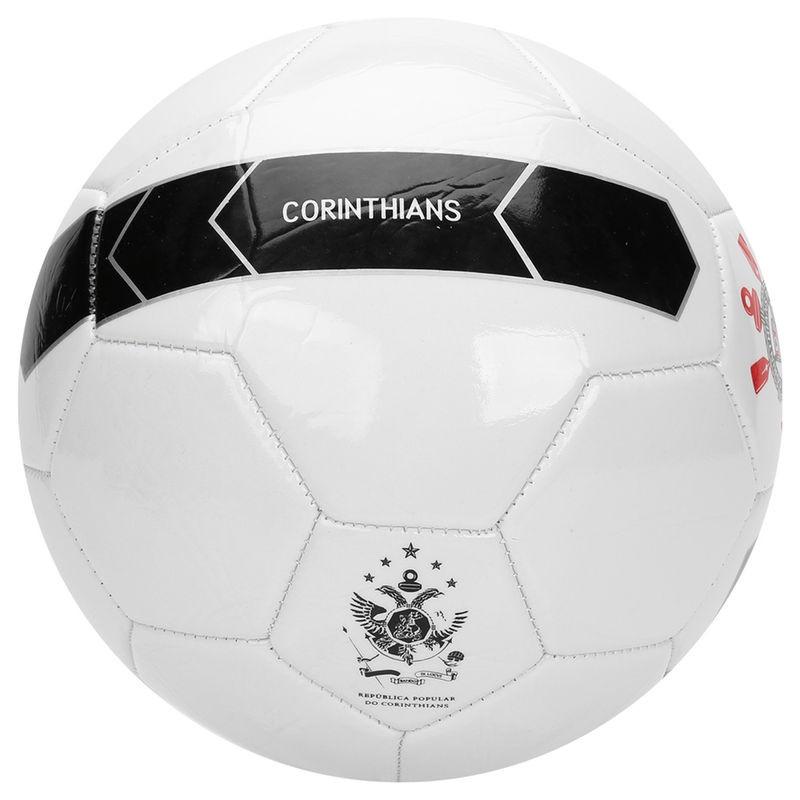 Bola Campo Corinthians Timão Branco