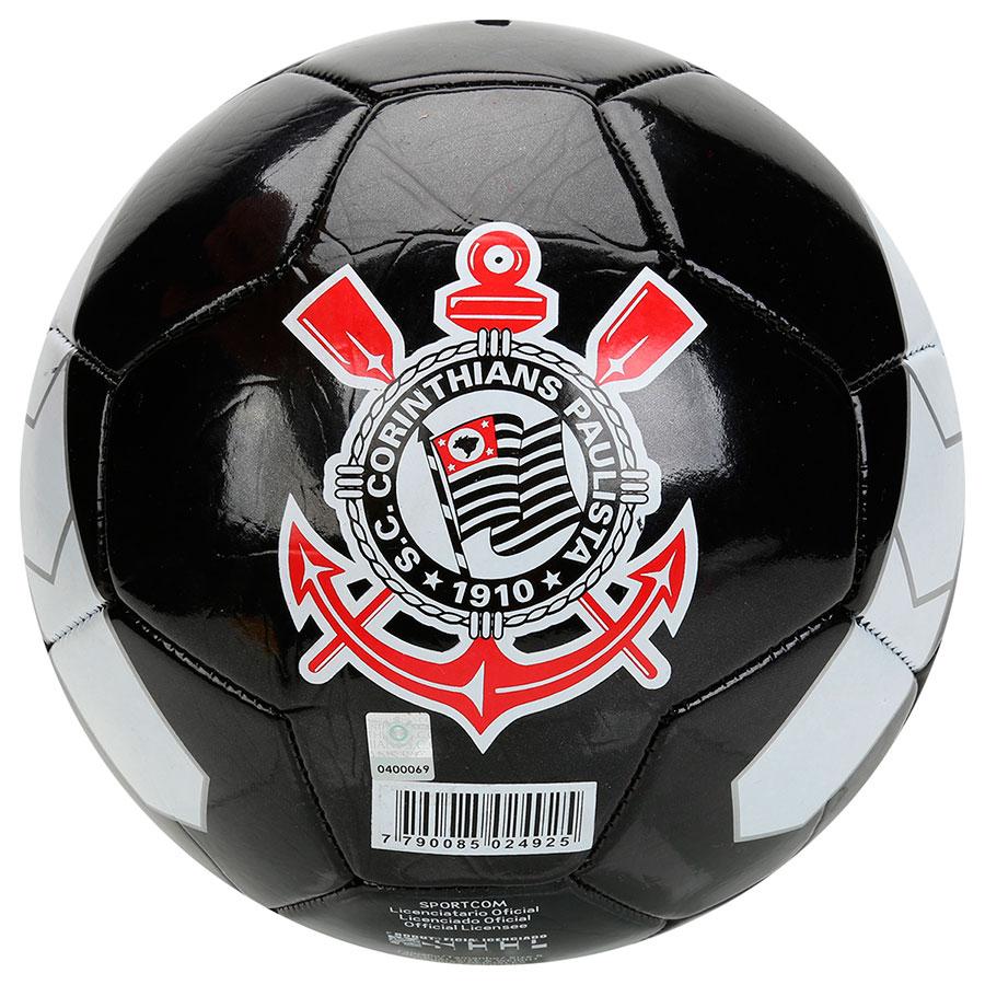 Bola Campo Corinthians Timão Preto