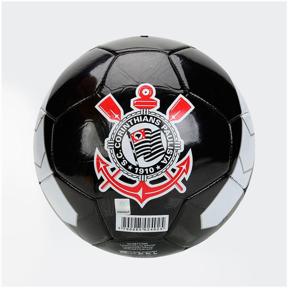 Bola Corinthians Timão Campo Preta