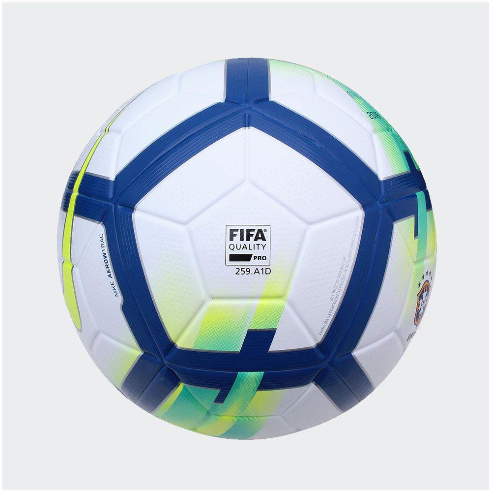 Bola Nike Campeonato Brasileiro 18 Strike Campo