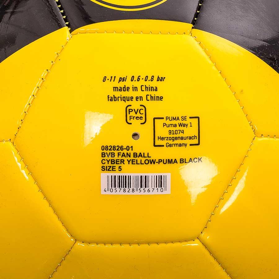Bola Campo Borussia Fan Ball Cyber 2017/18