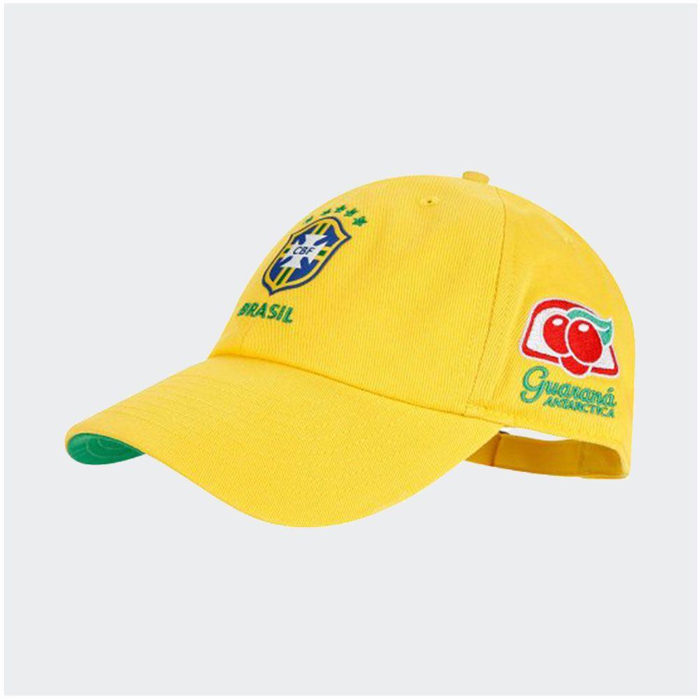 Boné Brasil Nike Core 2019 Amarelo