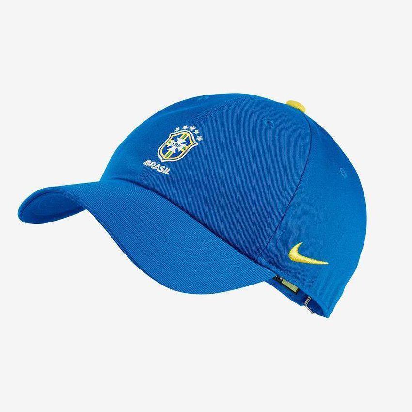 Boné Brasil Nike H86 Core 2018 Azul