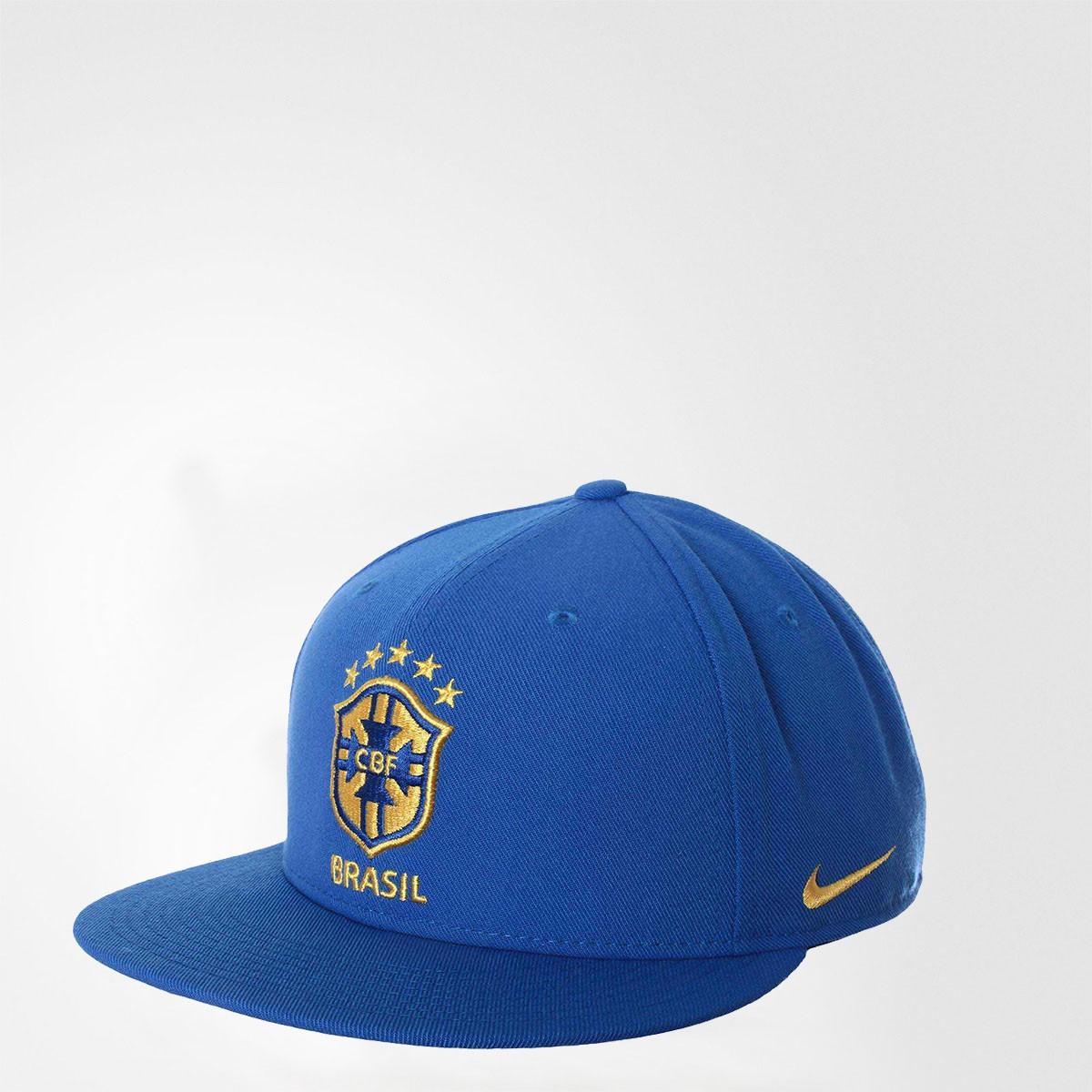 Boné Brasil Nike Seasonal True Azul