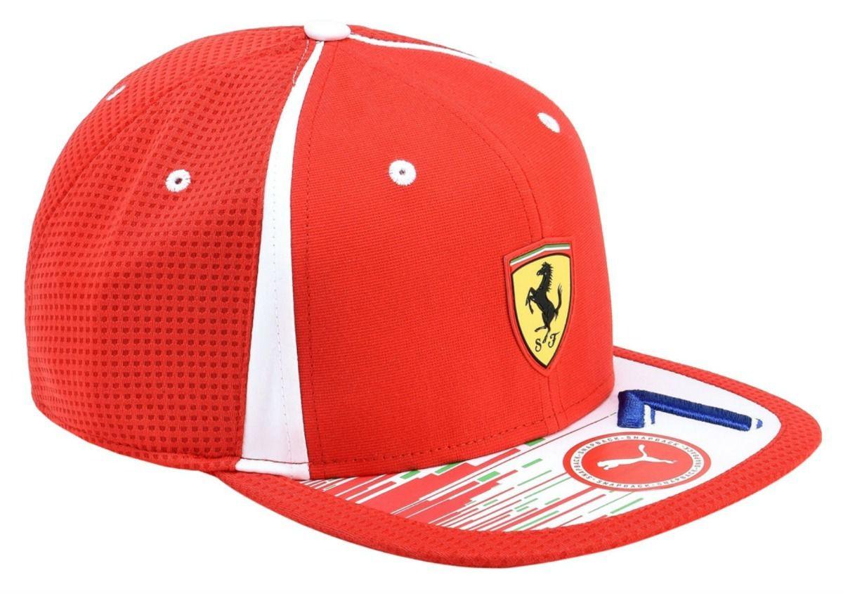d035ee67e11f6 Boné Ferrari Reblica Raikkonen Puma Team