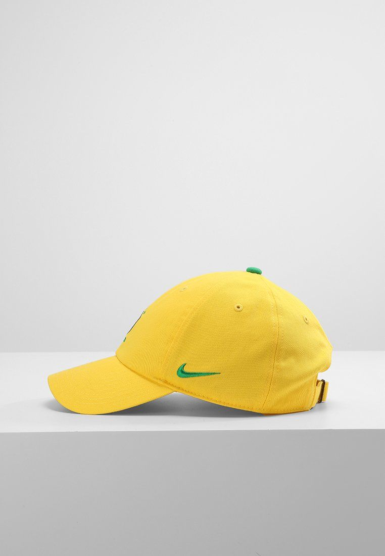 0d8202038f4cc Boné Brasil Nike H86 Core 2018 Amarelo