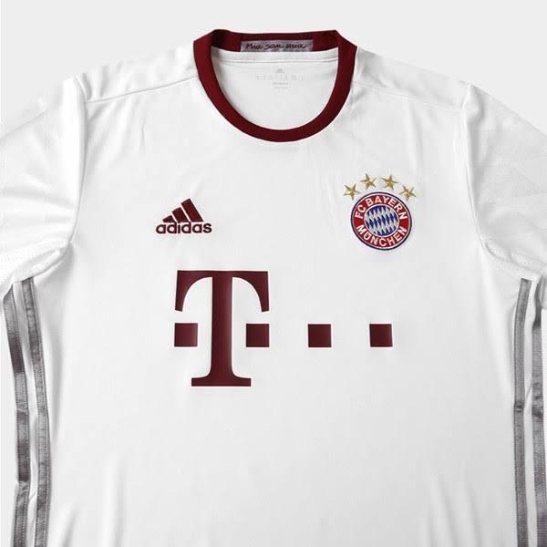 Camisa Bayern de Munique III 2016 S/Nº - TORCEDOR