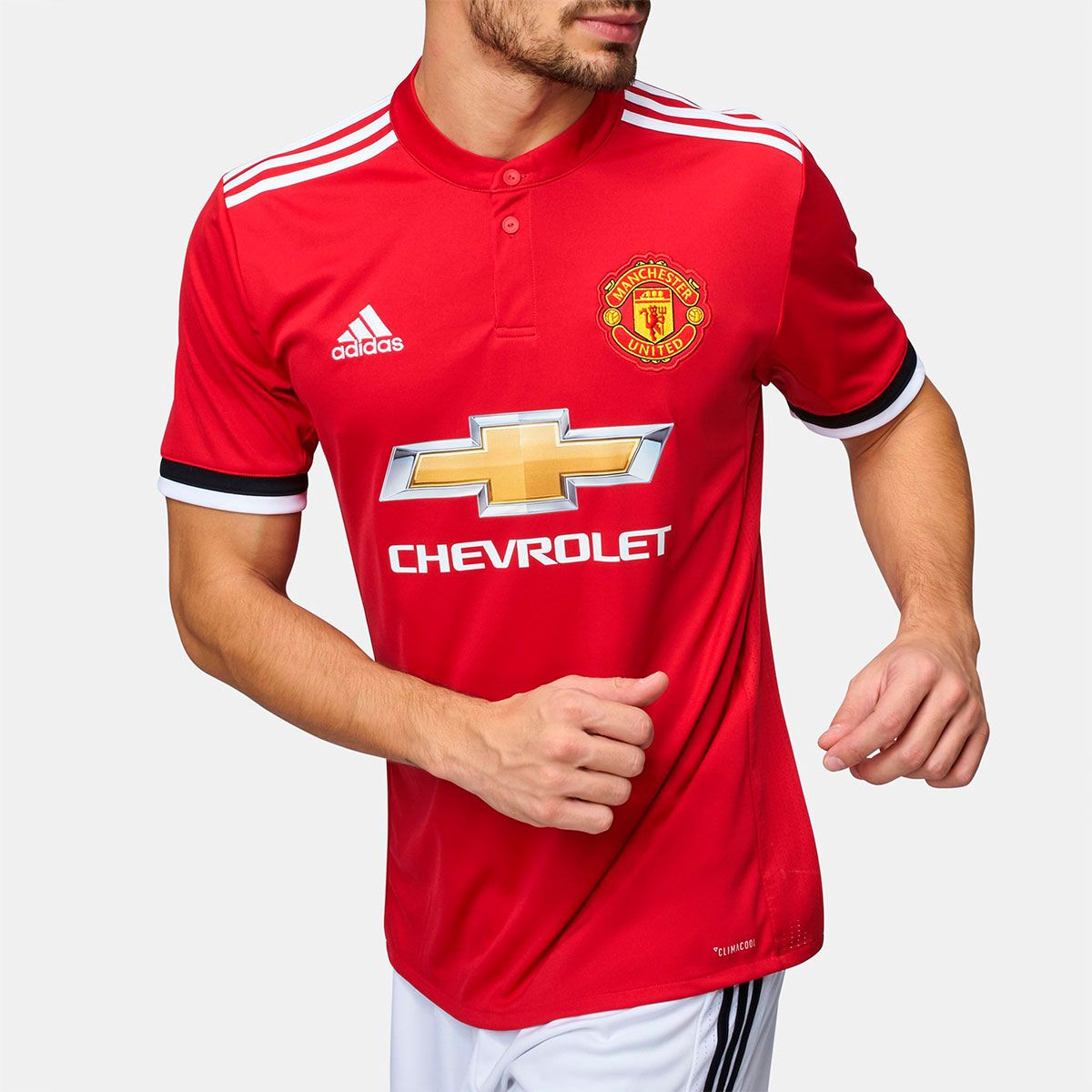 Camisa Manchester United Home Adidas 2017 f3032d8ad090c