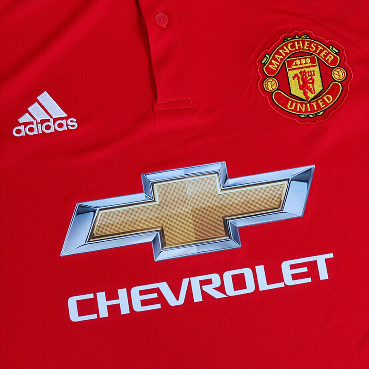 Camisa Manchester United Home Adidas 2017