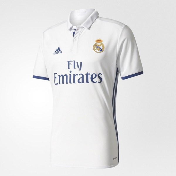 Camisa Real Madrid I Home 2016/17