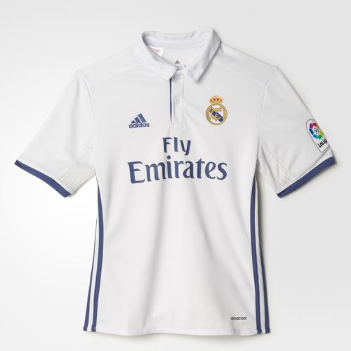 22befaaaf7 Camisa Real Madrid I Home - Infantil