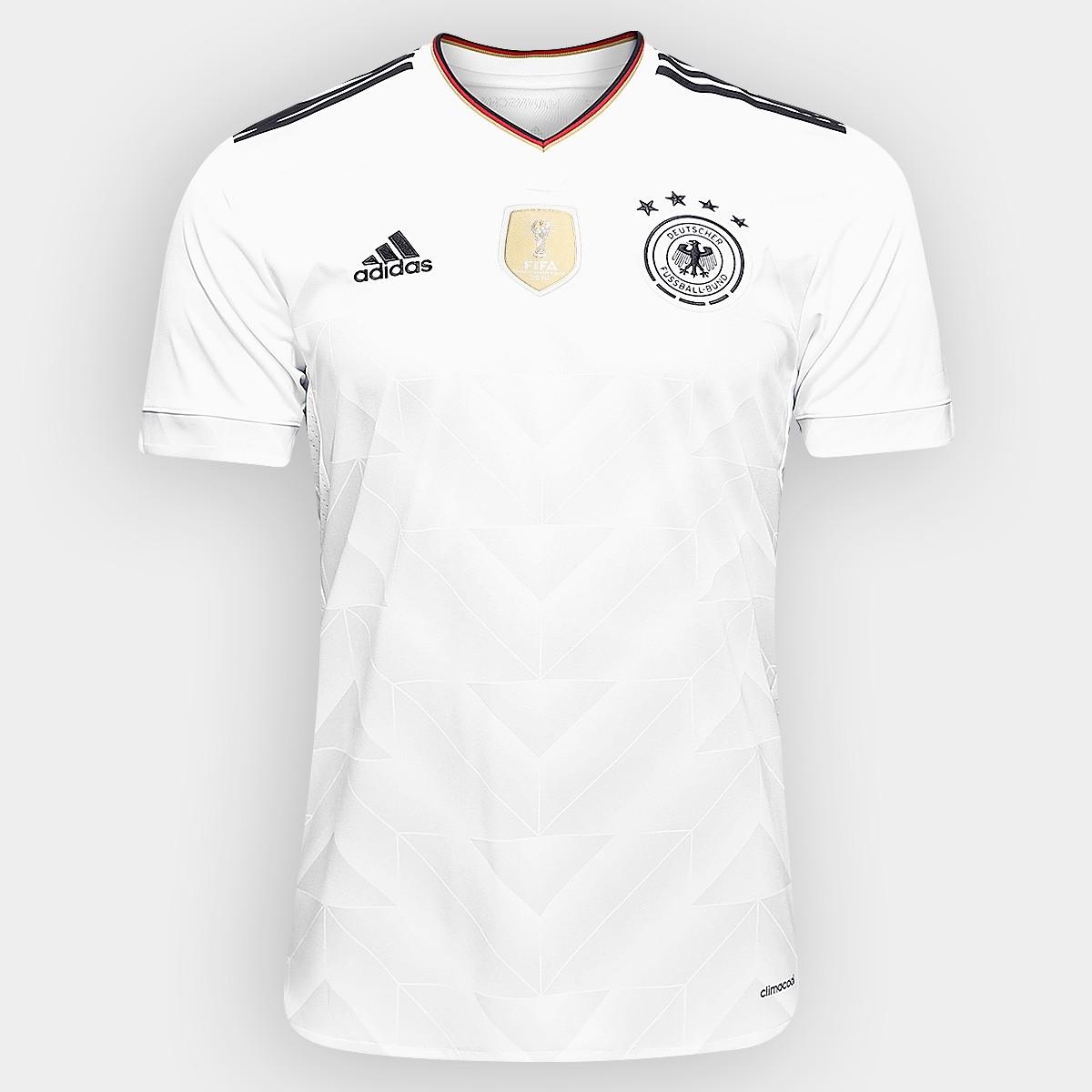 Camisa Seleção Alemanha I Home 2017 - Torcedor 63a932474a2ea