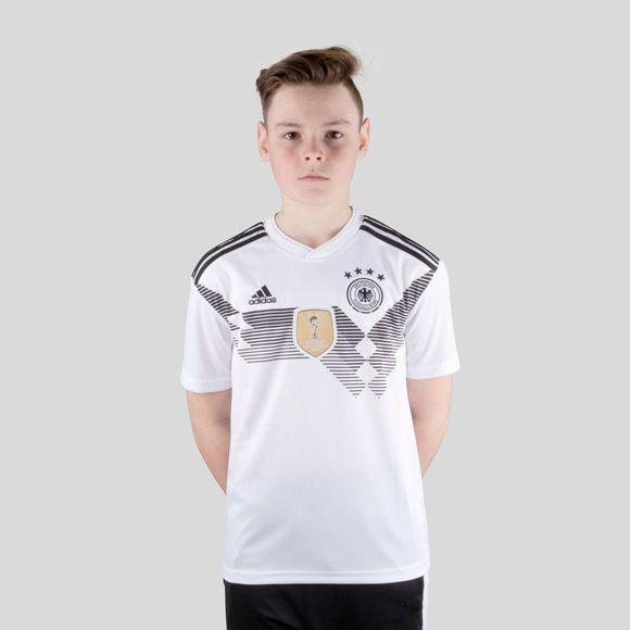 Camisa Alemanha I Home 2018  Infantil