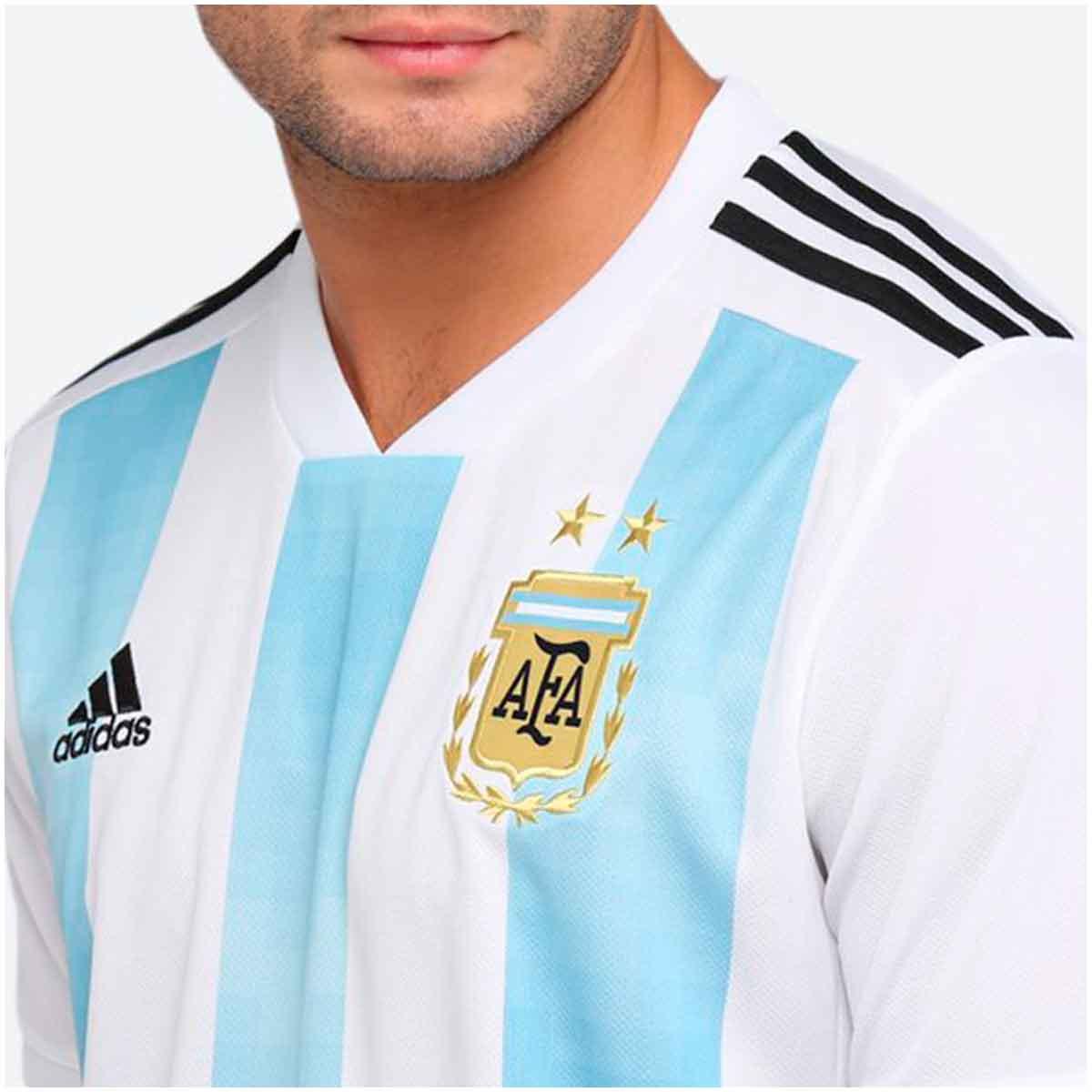 Camisa Argentina Home Adidas 2018