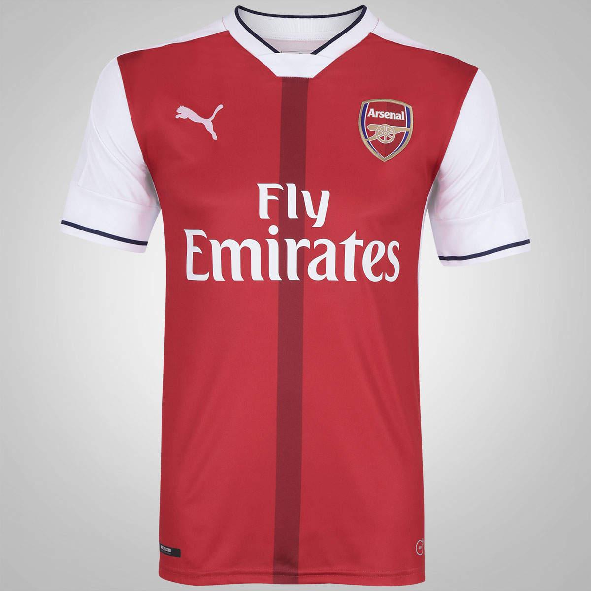 Camisa Arsenal I Home 2016/17