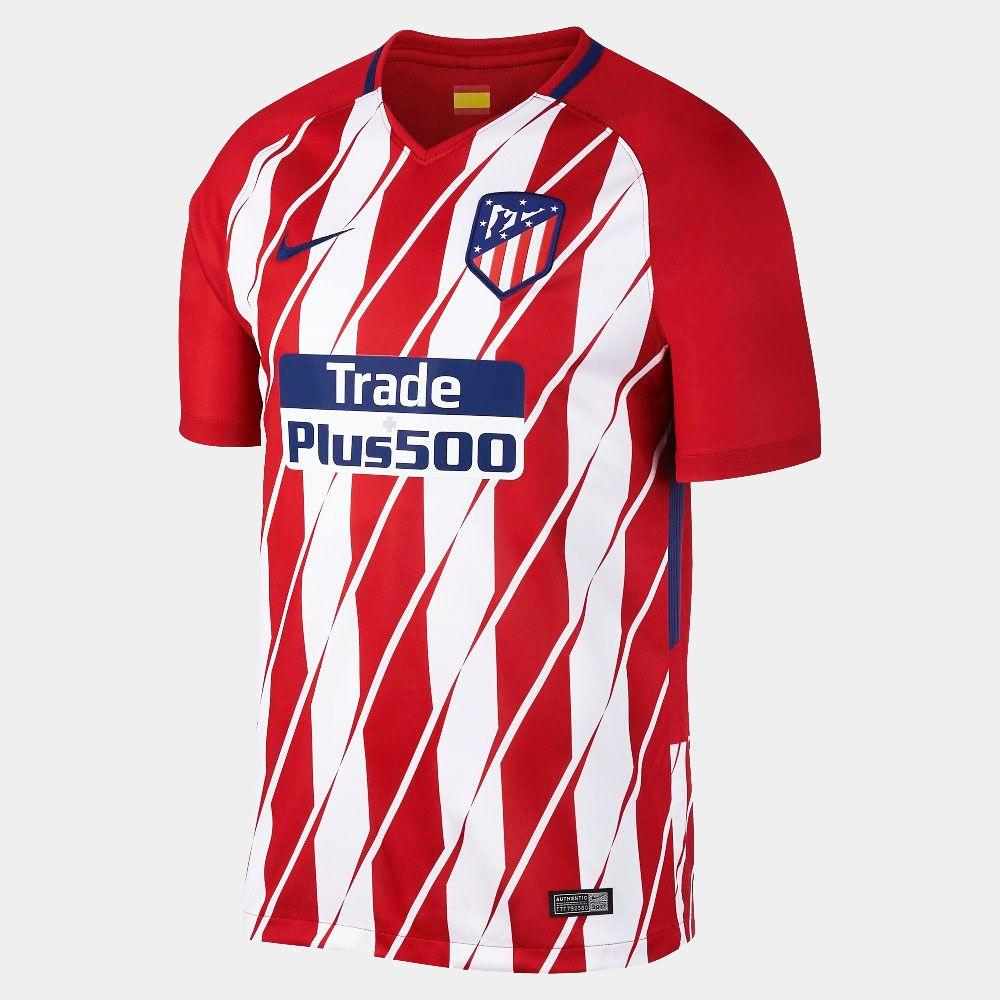 Camisa Atlético de Madrid Home Nike 2017