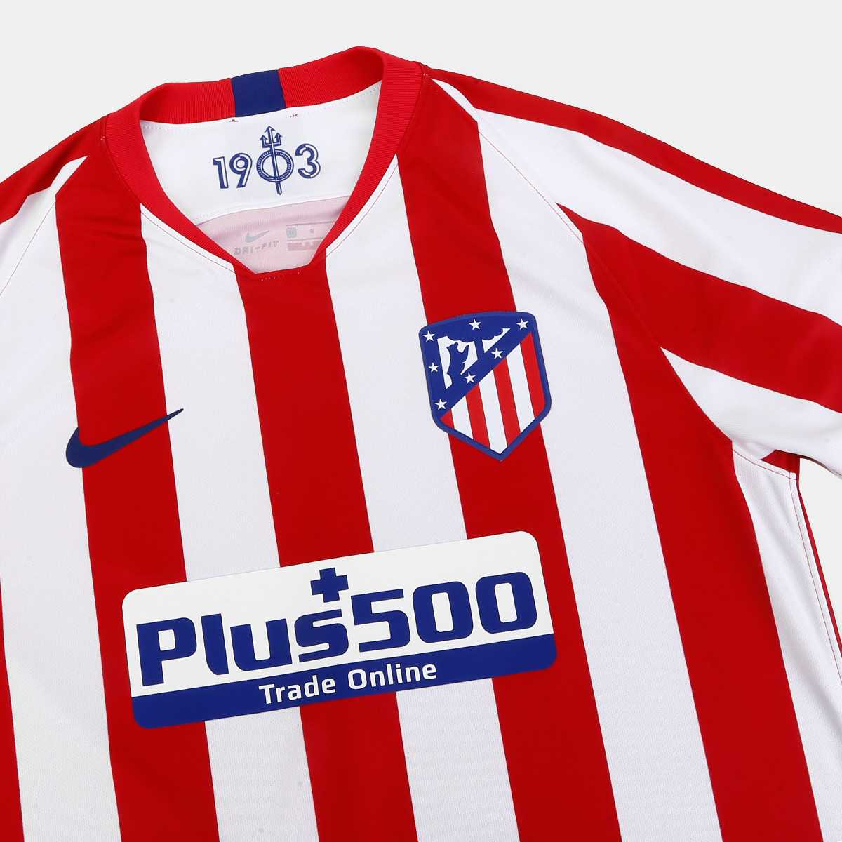 Camisa Atlético de Madrid Home Nike 2019/20
