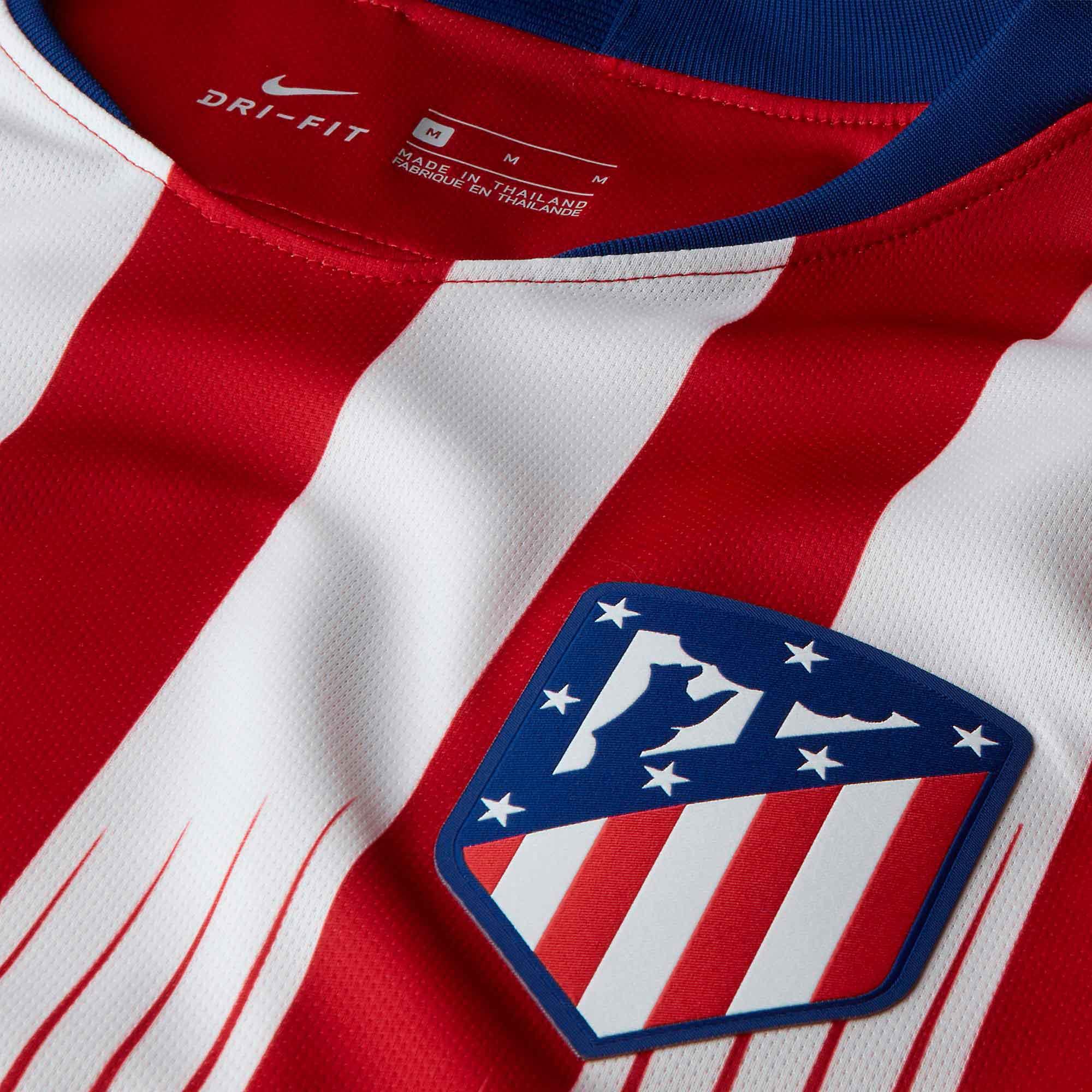 Camisa Atlético de Madrid Home Nike 2018