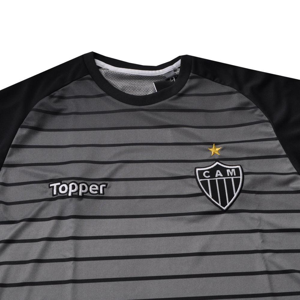 Camisa Atlético Pré-Jogo Atleta 2017