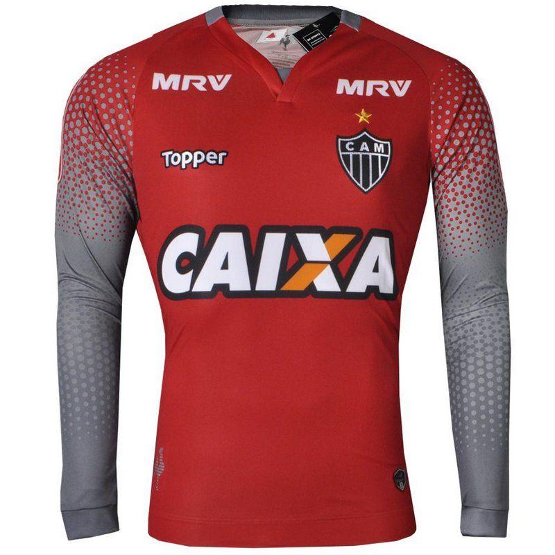 4c260060ee Camisa Atlético Mineiro II Goleiro 2017 Manga Longa