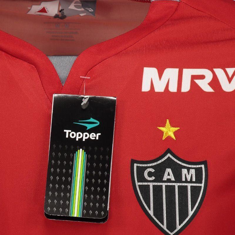 Camisa Atlético Mineiro Goleiro II Topper 2017 C/N - 2ª Qualidade