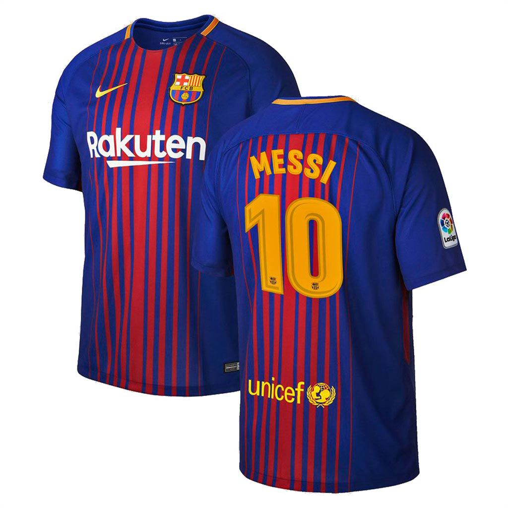 Camisa Barcelona Home Nike 2017 - 10 Messi