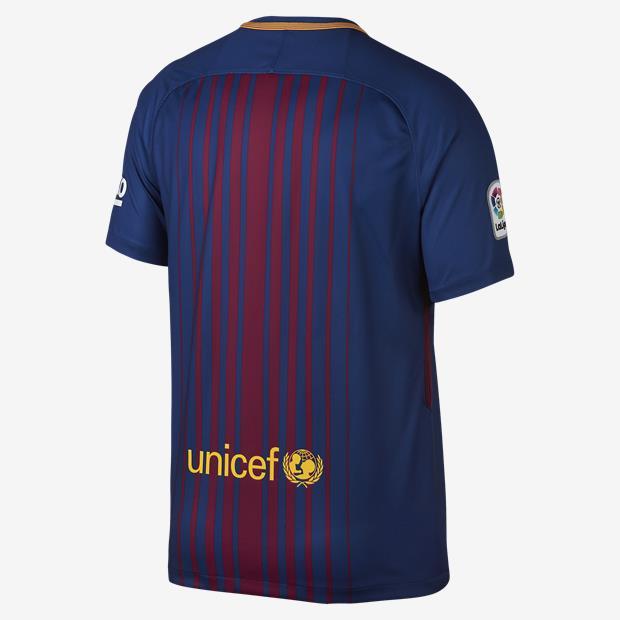 Camisa Barcelona I Home 2017/2018 - Infantil