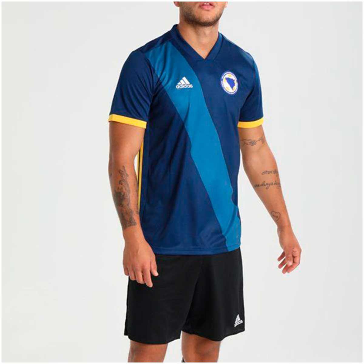 Camisa Bósnia Home Adidas 2018