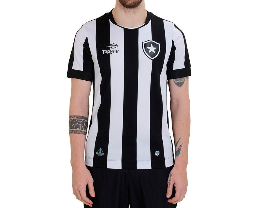 Camisa Botafogo Oficial I 2016 Masculina ff8b3a48d67fe