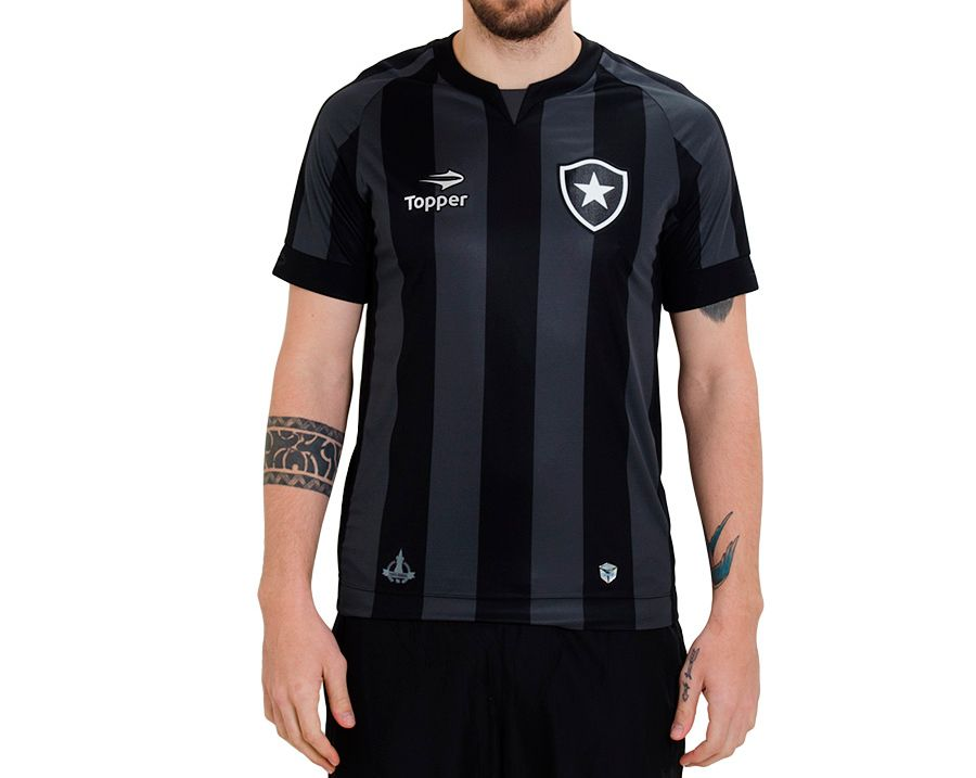 Camisa Botafogo Away Topper 2016 Masculina fdcdfb1d1f6f3