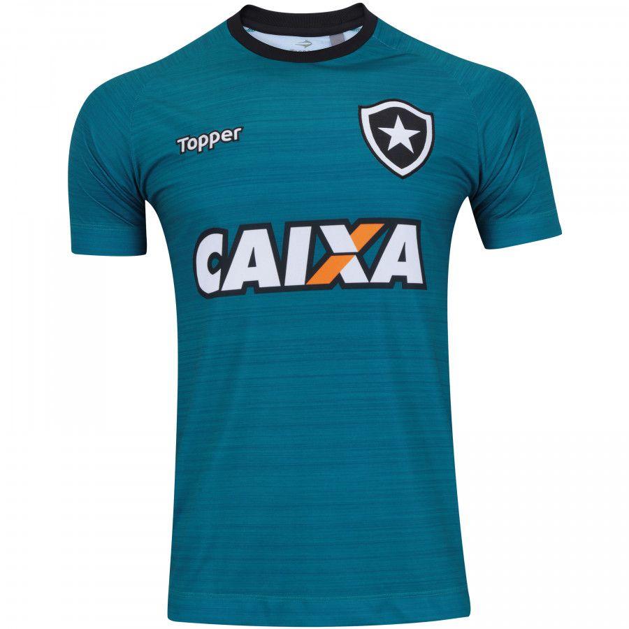 e9a31ba8e7d34 Camisa Botafogo Treino 2017 Topper - Futebol Cia - Paixao por Futebol !