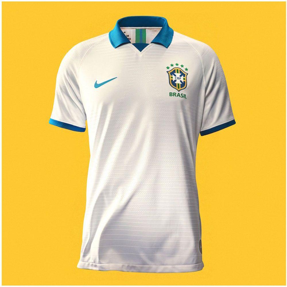 6fe2f13b19f9e Camisa Brasil Comemorativa Copa América 2019 - Oficial Jogador - Branca