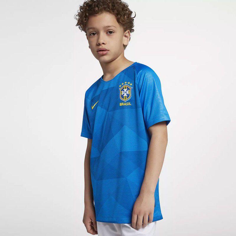 Camisa Brasil II Nike 2019-20 Infantil