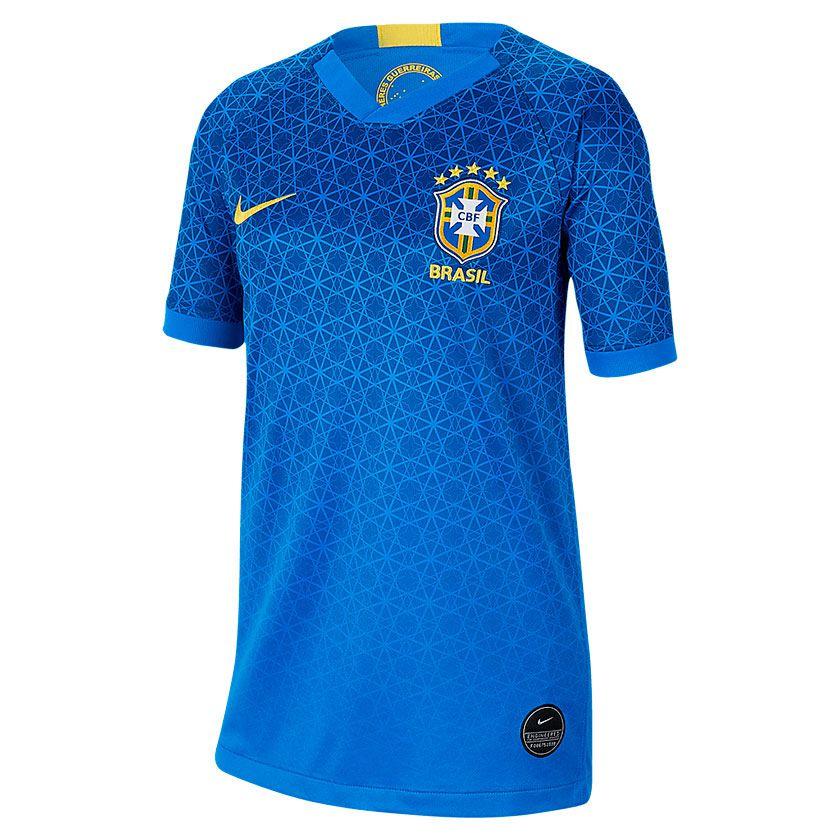 Camisa Brasil II Nike FWWC 2019-20 Infantil