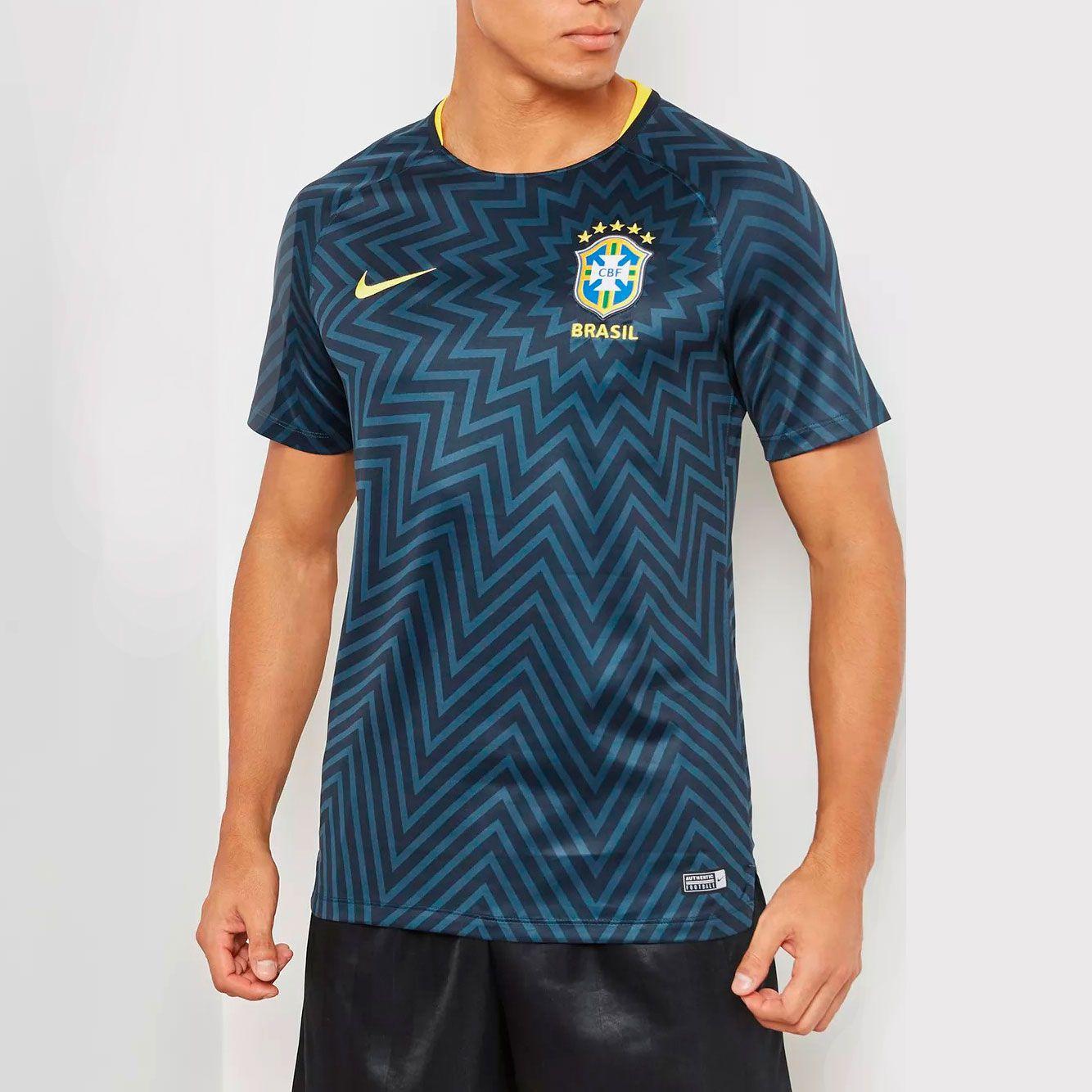Camisa Brasil Pré-Jogo Nike 2018