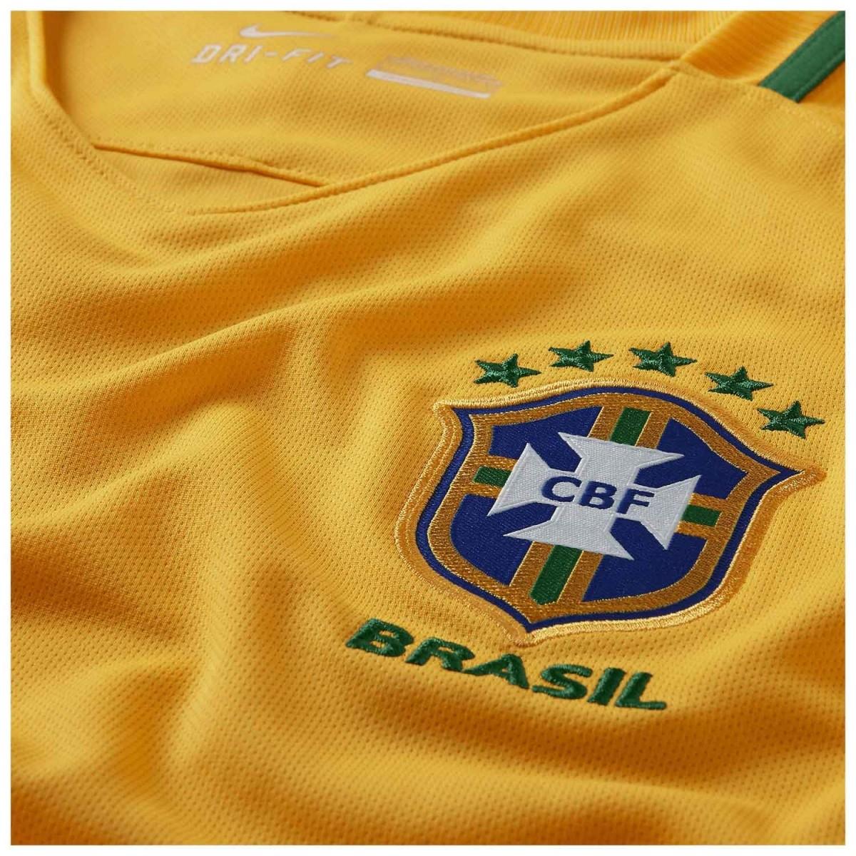 Camisa Seleção Brasileira I HOME 2016/2017