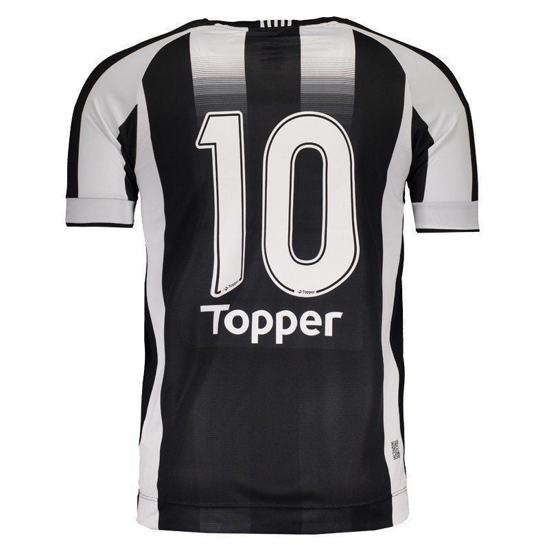 Camisa Ceará I Topper 2016 Nº10 - 2ª Qualidade