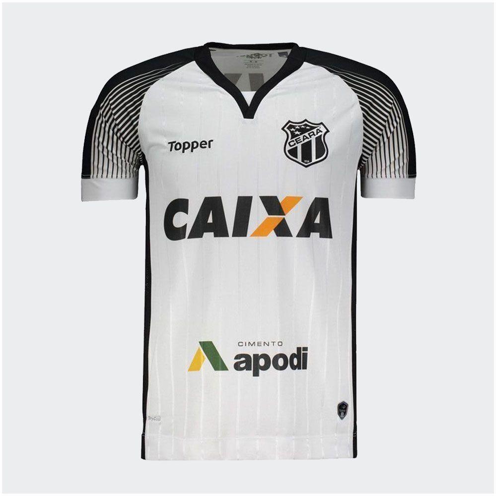 Camisa Ceará II Topper 2017 C/N