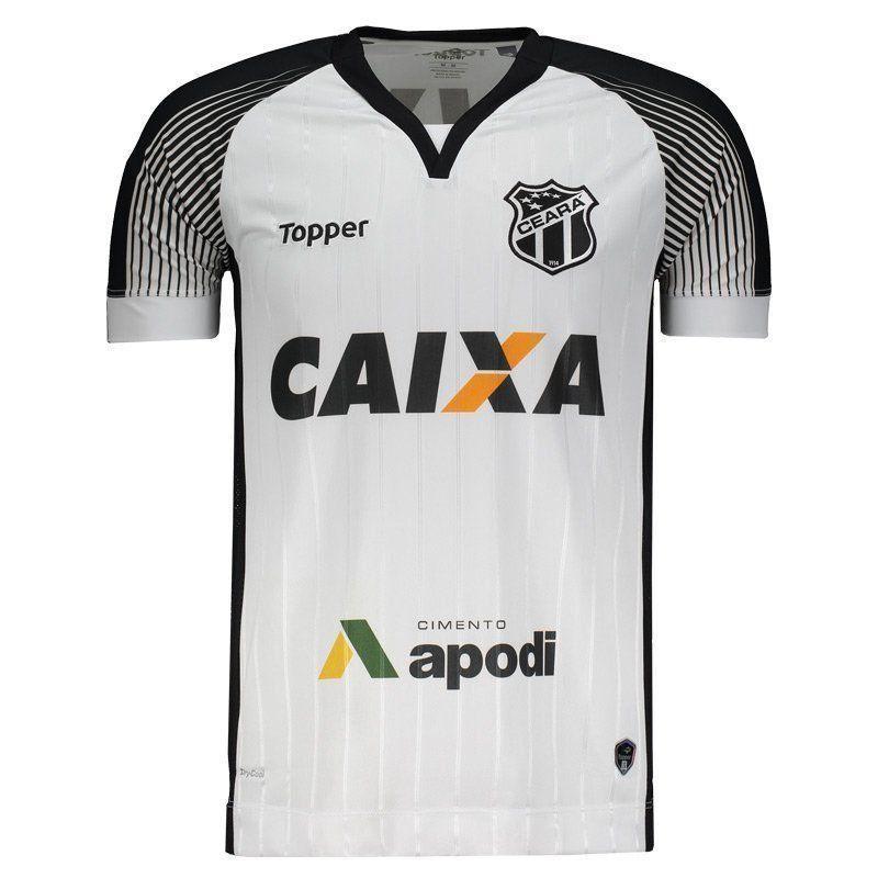Camisa Ceará II Topper 2017 C/P - 2ª Qualidade