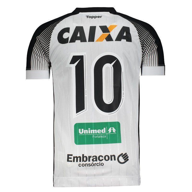 Camisa Ceará II Topper 2017 Nº10 C/P - 2ª Qualidade