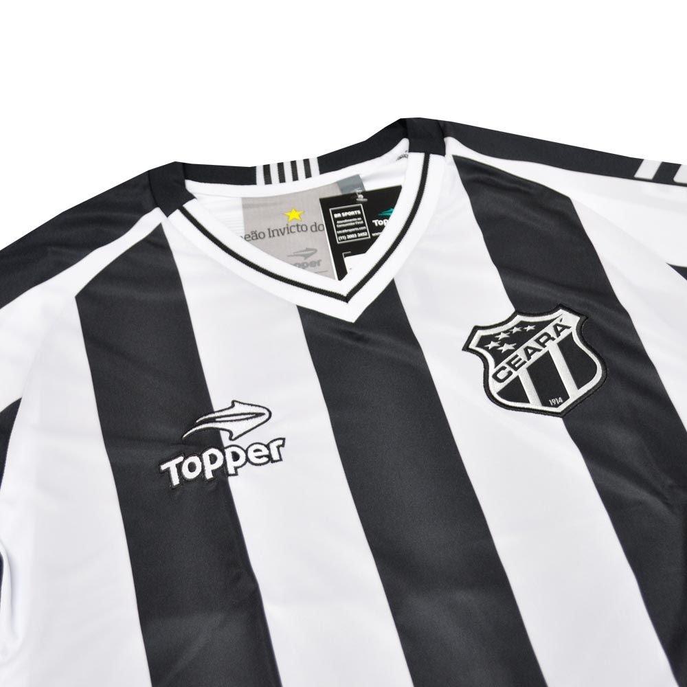 Camisa Ceará I Topper 2016 C/P - 2ª Qualidade
