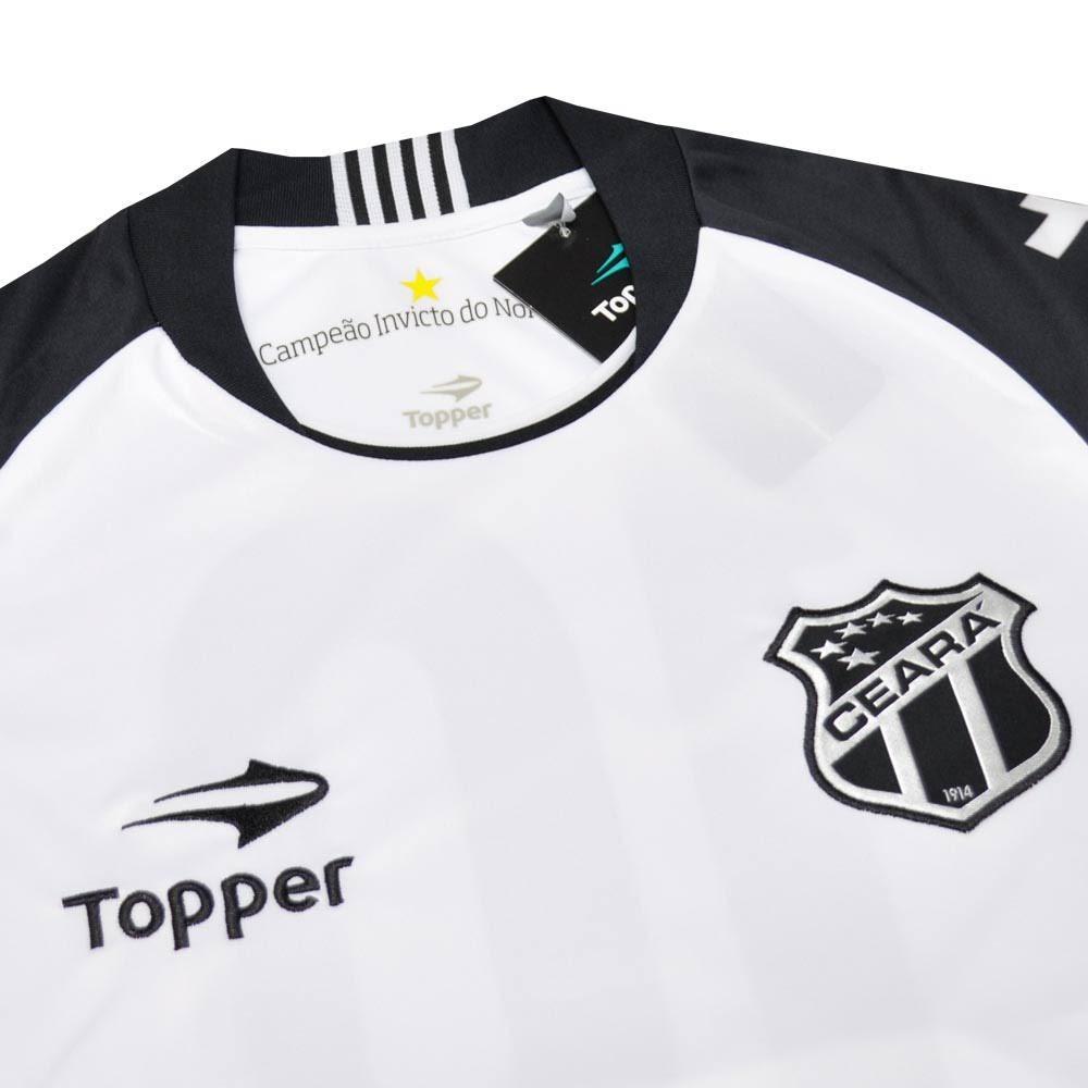 CAMISA CEARÁ JOGO II 2016 TOPPER