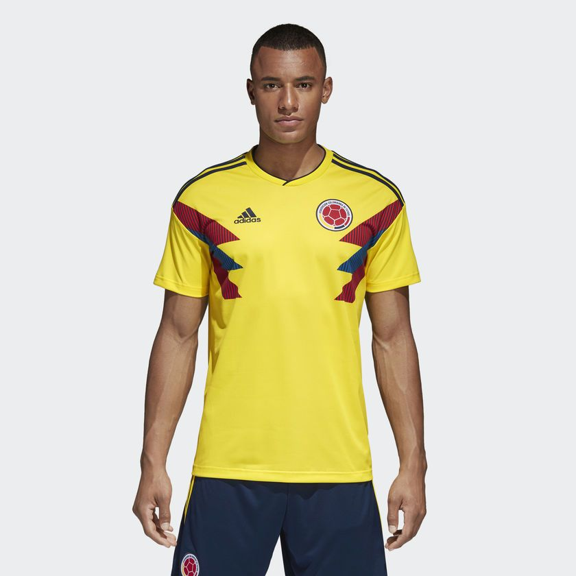 Camisa Colômbia I Home 2018