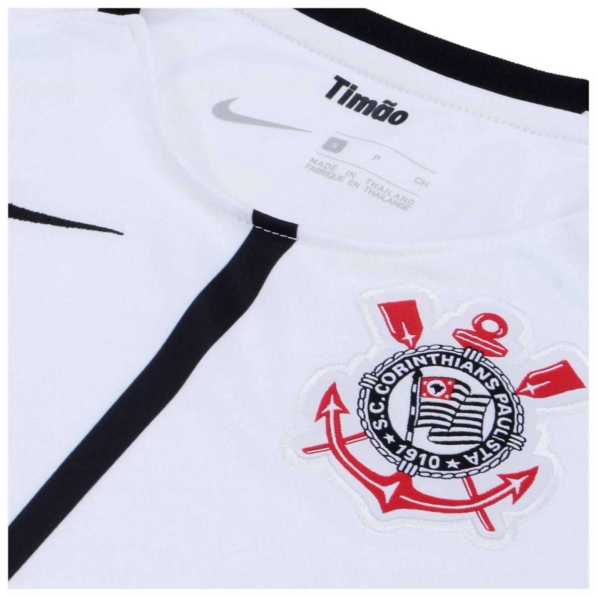 Camisa Corinthians OF.1 Home 2017/2018 Infantil