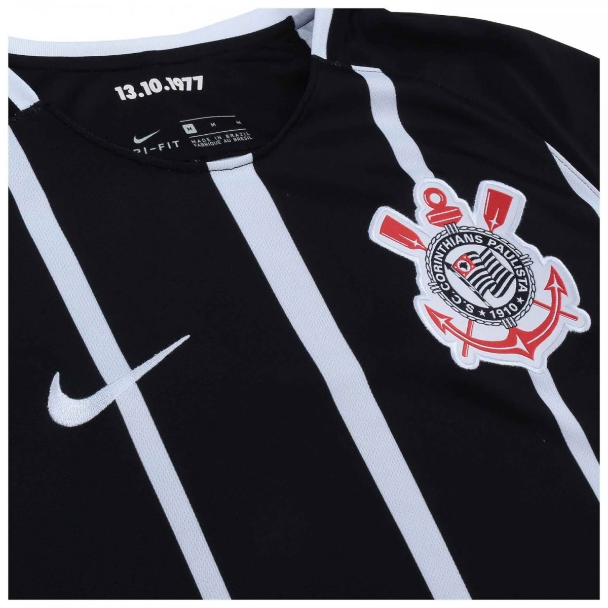 CAMISA CORINTHIANS OF.2 AWAY 2017/2018 JUVENIL