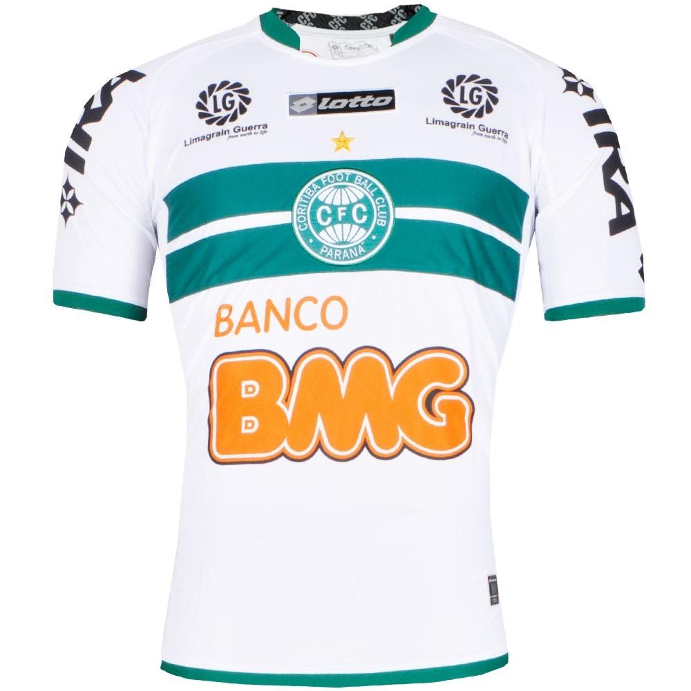 Camisa Coritiba Jogo  Juvenil Lotto