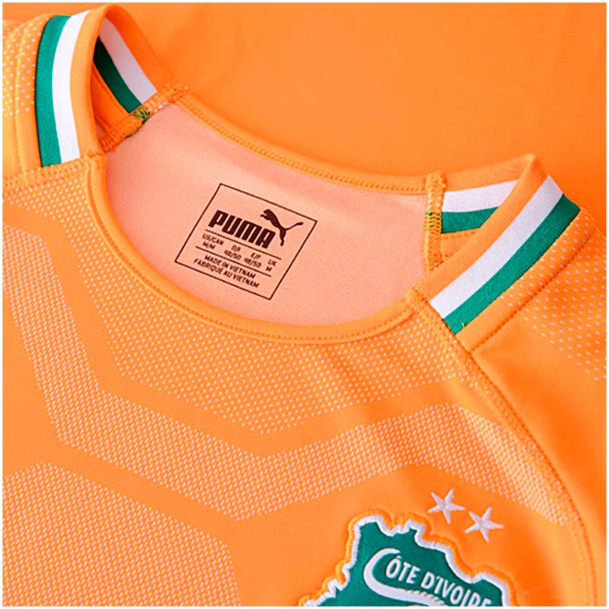 Camisa Costa do Marfim Home Puma 2018